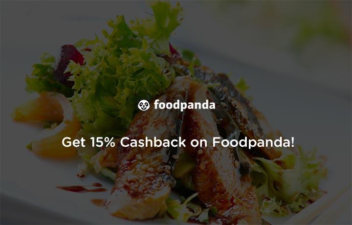 Get 20% Cashback on foodpanda By Mobikwik
