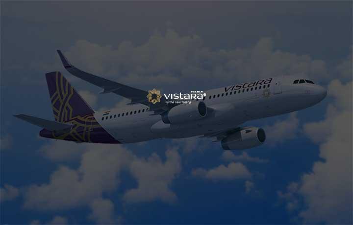 Get 10% Supercash Upto Rs.600 At Air Vistara Pay Via Mobikwik