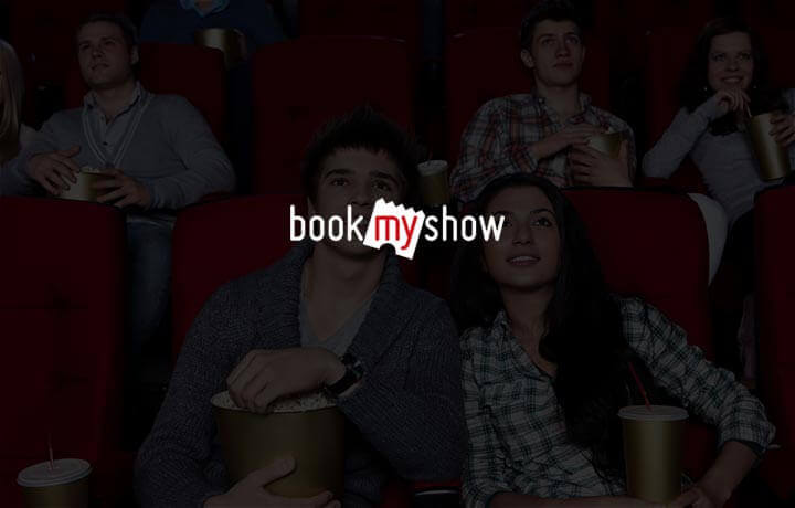 Flat Rs. 100 SuperCash on bookmyshow!