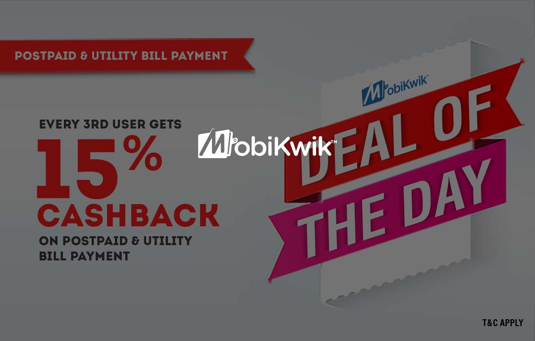 Mobikwik Recharge Bill Pay Deal Coupon Code