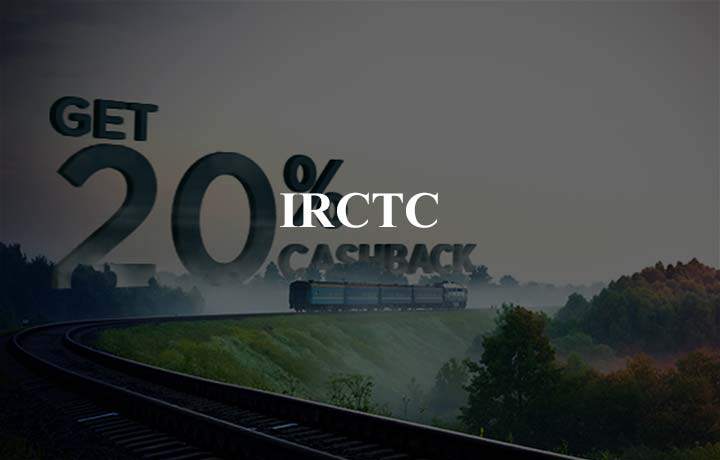 20% SuperCash (new users) & 5% SuperCash (existing users) @ IRCTC Rail Connect!