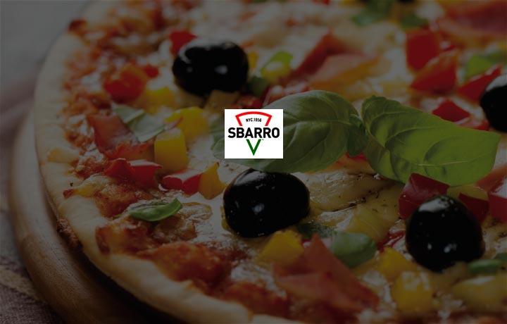 Get 100% SuperCash @ Sbarro!