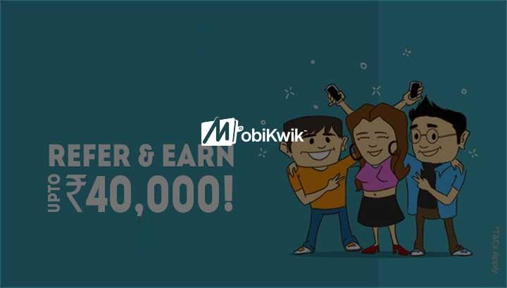 MobiKwik refer and earn, MobiKwik offers, MobiKwik Coupan codes