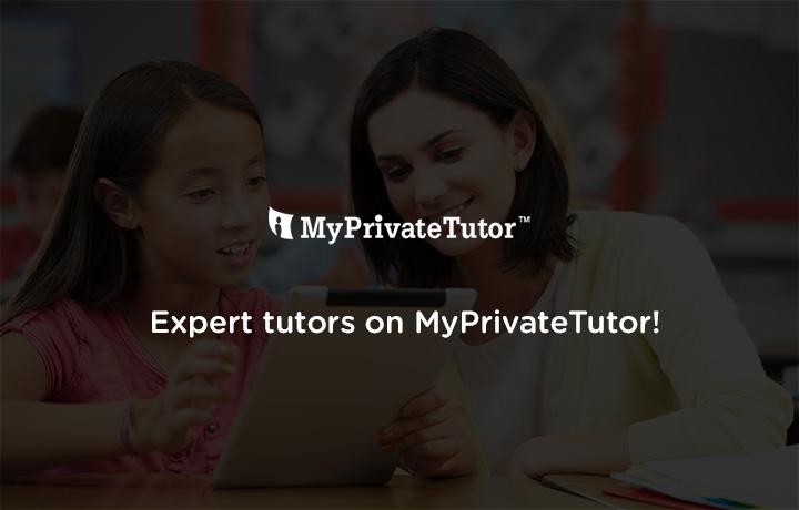 Expert tutors on MyPrivateTutor!